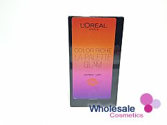 12 x L'Oreal Color Riche La Palette Glam Lips