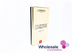 12 x L'Oreal Color Riche La Palette Gold Case Lips - Red