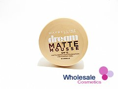 12 x Maybelline Dream Matte Mousse Foundation - 16 Vanilla