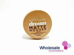 12 x Maybelline Dream Matte Mousse Foundation - 40 Fawn