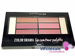 12 x Maybelline Color Drama Lip Contour Palette - 02 Blushed Bombshell