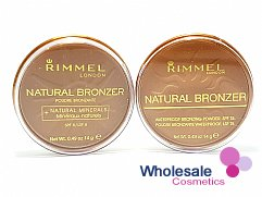 12 x Rimmel Natural Bronzer Pressed Powder - 022 Sun Bronze