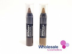 12 x Maybelline Brow Drama Pomade Crayon - Dark Brown