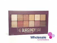 12 x Maybelline The Burgundy Bar Eyeshadow Palette