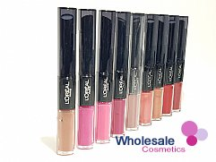 24 x L'Oreal Infallible 24HR Duo Lip Colour - ASSORTED