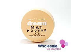 12 x Maybelline Dream Matte Mousse Foundation - 012 Fair Ivory