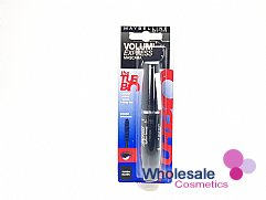 12 x Maybelline Volum' Express The Turbo Boost Mascara - Turbo Black