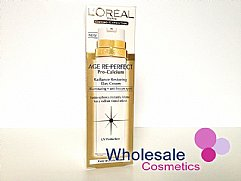 6 x L'Oreal Age Re-Perfect Pro Calcium Radiance Restoring Day Cream 50ml