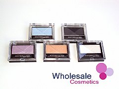 36 x Maybelline Eye Studio Mono Eye Shadows - ASSORTED