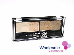 12 x Maybelline Eye Studio Natural Impact Quad Eyeshadow - Nude Beige