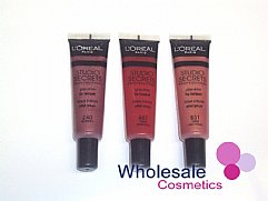 24 x L'Oreal Studio Secrets Ultra-Glossy Lip Lacquer - ASSORTED