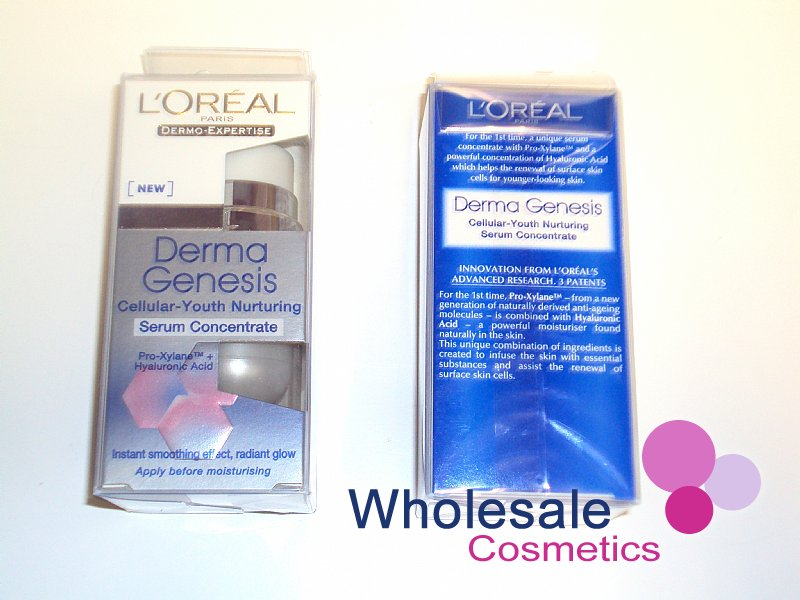 6 x L'Oreal Derma Genesis Cellular Youth Nurturing Serum Concentrate 15ml