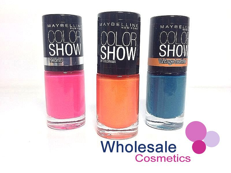 36 x Maybelline Colorshow Nail Polish ASSORTED