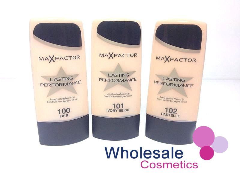 12 x Max Factor Lasting Performance Foundation - ASSORTED