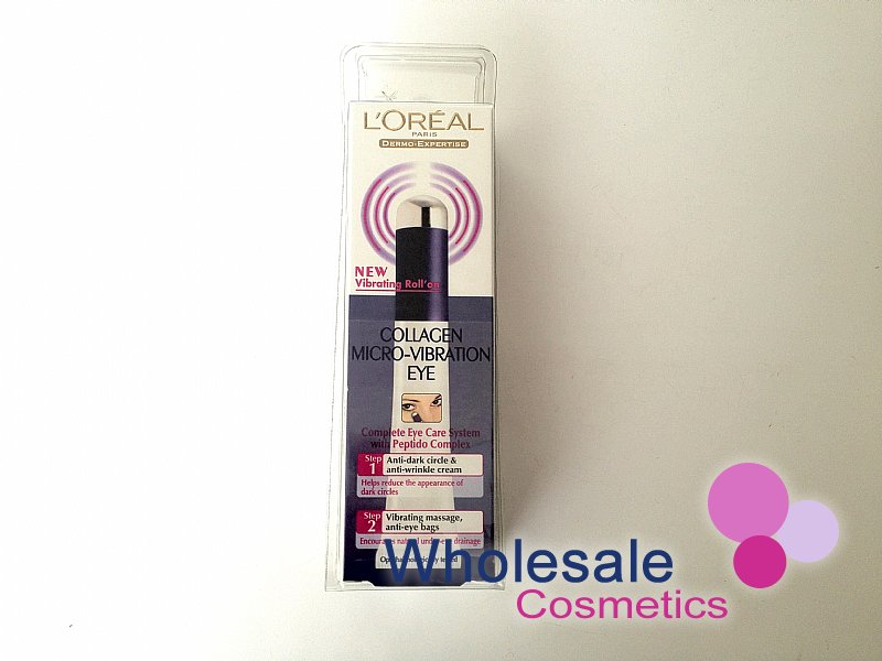 6 x L'Oreal Derma Genesis Collagen Micro-Vibration Eye 15ml