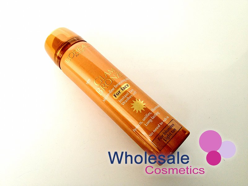 6 x L'Oreal Glam Bronze Instant Tan For Face - 01 Blondes Light Tan