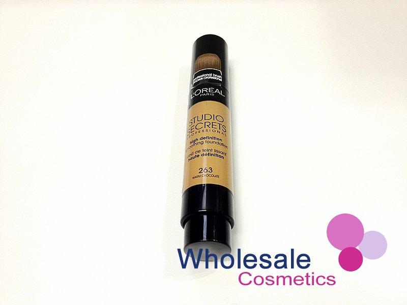 12 x L'Oreal Studio Secrets High Definition Smoothing Foundation - No.263