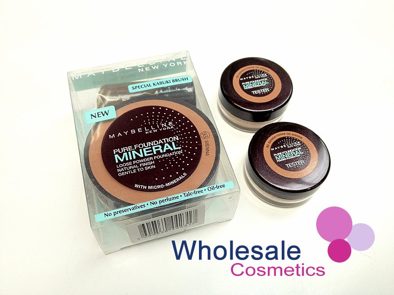 18 x Maybelline Pure Mineral Loose Powder Foundation