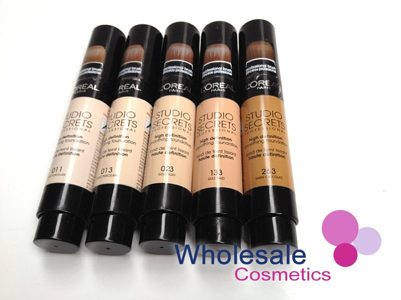12 x L'Oreal Studio Secrets High Definition Smoothing Foundation ASSORTED