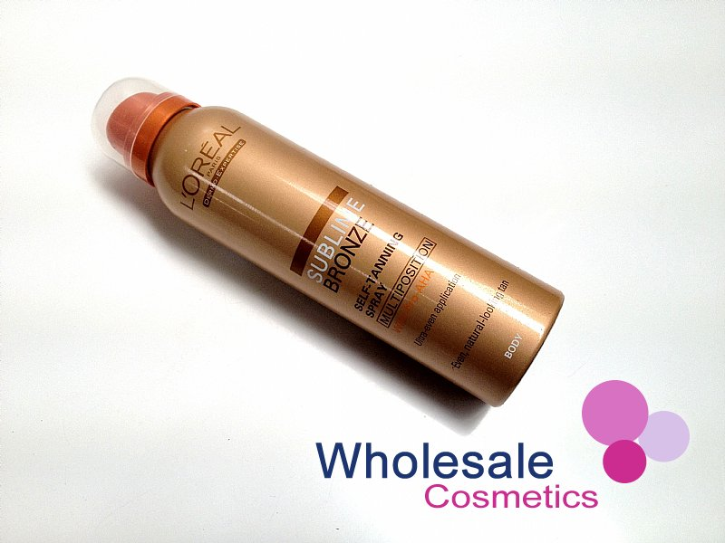 6 x L'Oreal Sublime Bronze Self-Tanning Multi-Position Body Spray