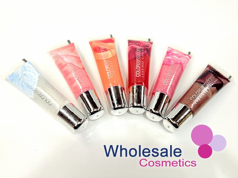 24 x Maybelline Color Sensational Luscious Lip Gloss - Assorted