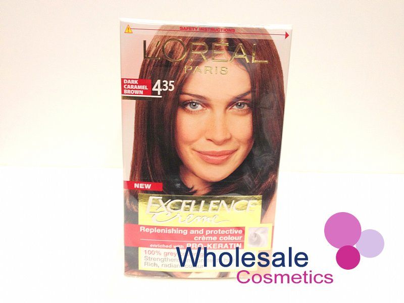 Wholesale Cosmetics 12 X Loreal Excellence Creme Hair Colour No435