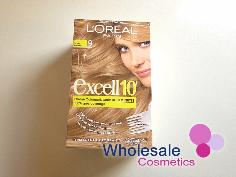 12 x L'Oreal Excell 10' Hair Colourant -9.00-Light Blonde
