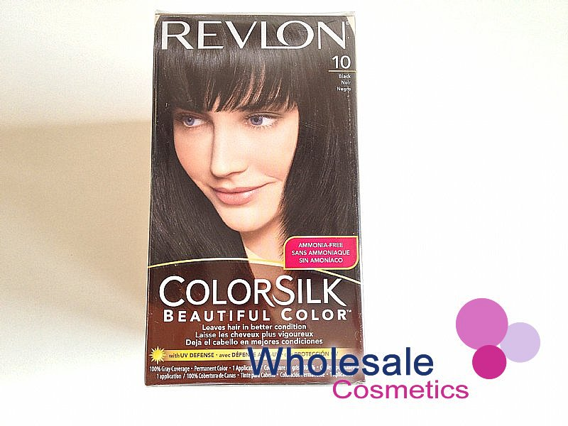 12 x Revlon ColorSilk Beautiful Color - Black