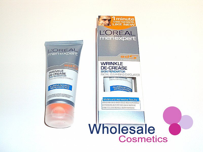 6 x L'Oreal Men Expert Wrinkle De-Crease Skin Renovator 60ml