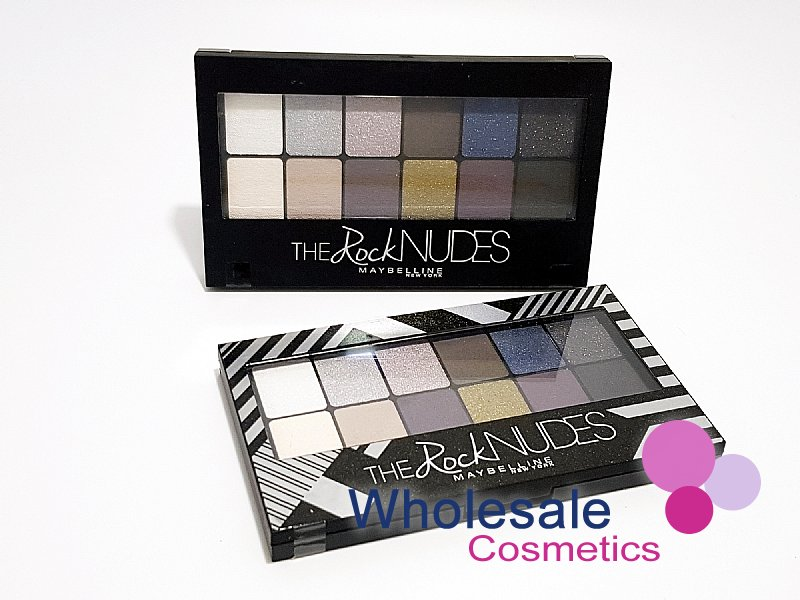 12 x Maybelline The Rock Nudes Eyeshadow Pallet